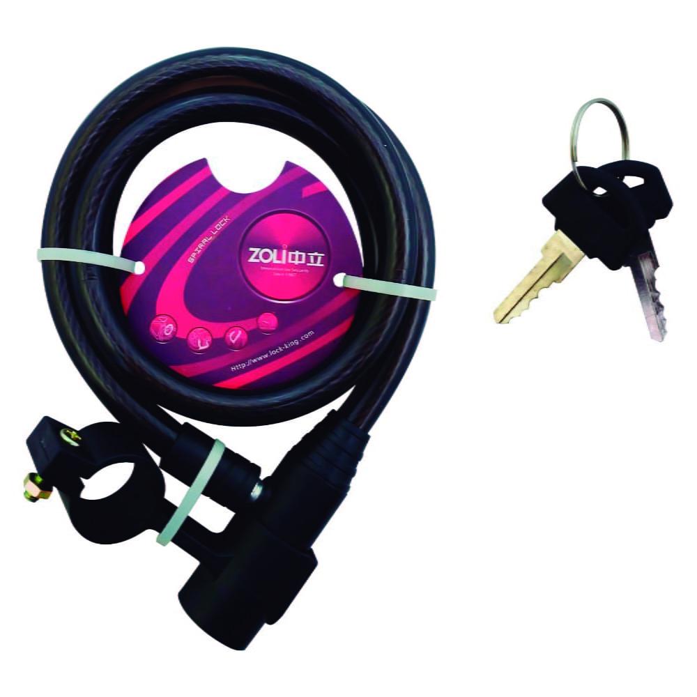 Cadeado para Bicicleta com Chave Zoli - 1m x 6mm