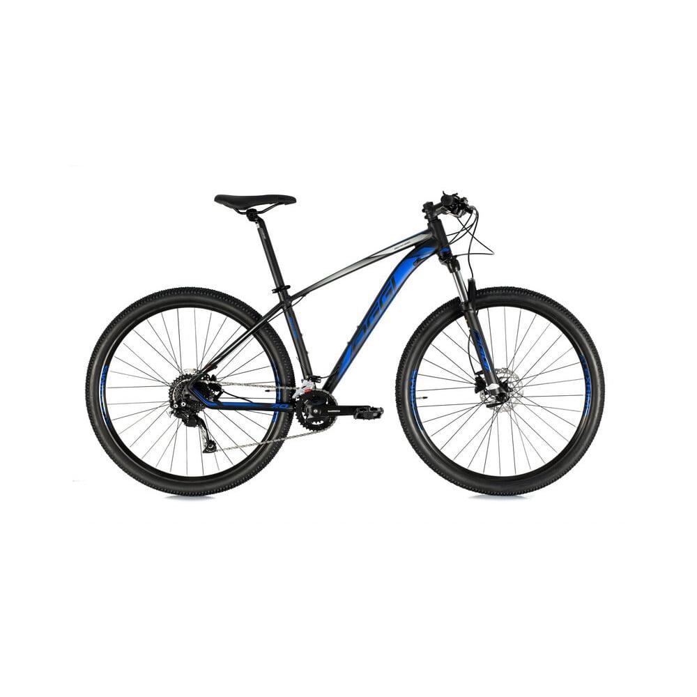 Bicicleta Oggi Big Wheel 7.0 2021 Preto/Azul/Grafite Aro 29, 18v
