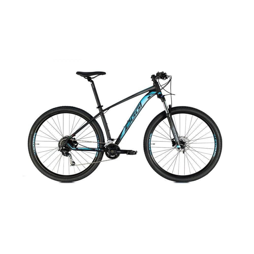Bicicleta Oggi Big Wheel 7.1 2021 Preto/Azul/Grafite Aro 29, 18v