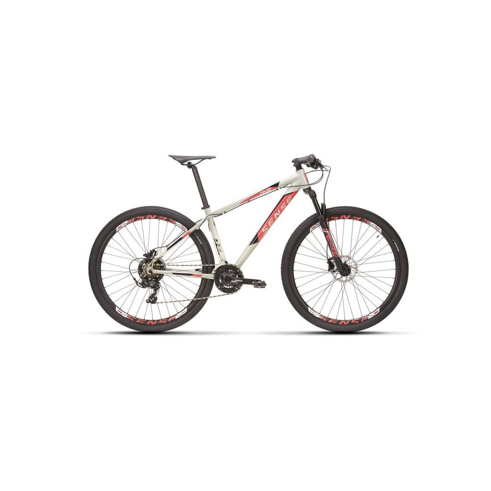 Bicicleta Sense One Cinza/Rosa 2021/2022 - Aro 29, 21v