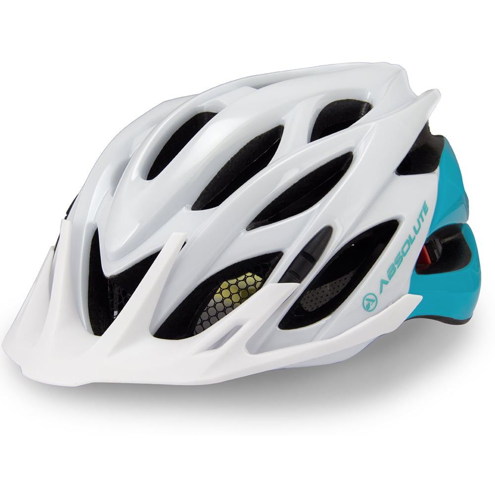 Capacete Ciclismo Absolute Mia - Branco/Verde