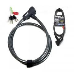 Cadeado Para Bicicleta Onguard Akita 8039X - 120x12mm