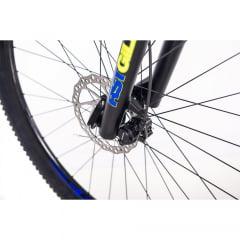 Bicicleta Sense One Azul/Amarela 2019 - Aro 29, 21v