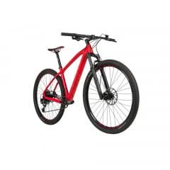 Bicicleta Caloi Elite Carbon Sport Vermelha 2021 - Aro 29, 12v