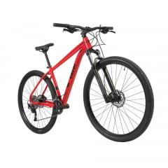 Bicicleta Caloi Explorer Expert 2021 Vermelha - Aro 29, 20v