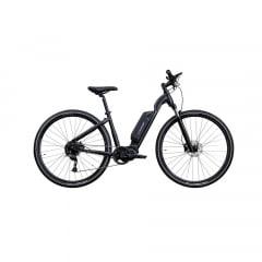 Bicicleta Elétrica Oggi Flex 700 Preta/Cinza Aro 700, 9v