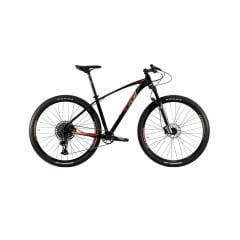 Bicicleta Oggi Big Wheel 7.5 2021 Preto/Vermelho/Dourado Aro 29, 12v