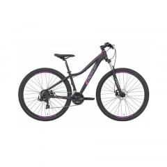 Bicicleta Oggi Float Sport 2021 Rosa/Preta Aro 29, 21 V