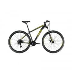 Bicicleta Oggi Hacker Sport 2021 Preta Aro 29, 21 V