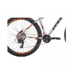 Bicicleta Sense Fun Comp Cinza/Laranja 2021/2022 - Aro 29, 16v