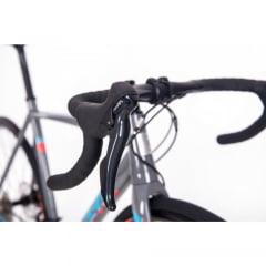 Bicicleta Sense Criterium Race Cinza/Azul 2019  - Aro 700, 18v