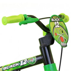 Bicicleta Nathor Black Aro 12