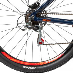 Bicicleta Caloi Explorer Sport Azul 2019 - Aro 29, 21v