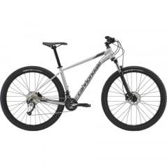Bicicleta Cannondale Trail 6 Prata 2019 - Aro 29, 18 v